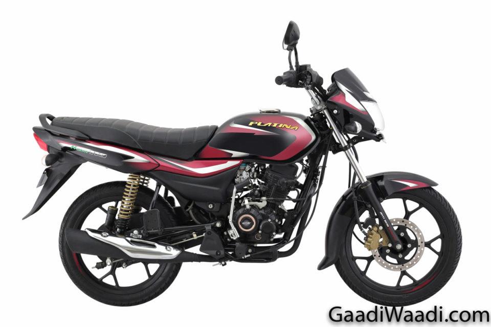 2019 Bajaj Platina 110 H-Gear Launched