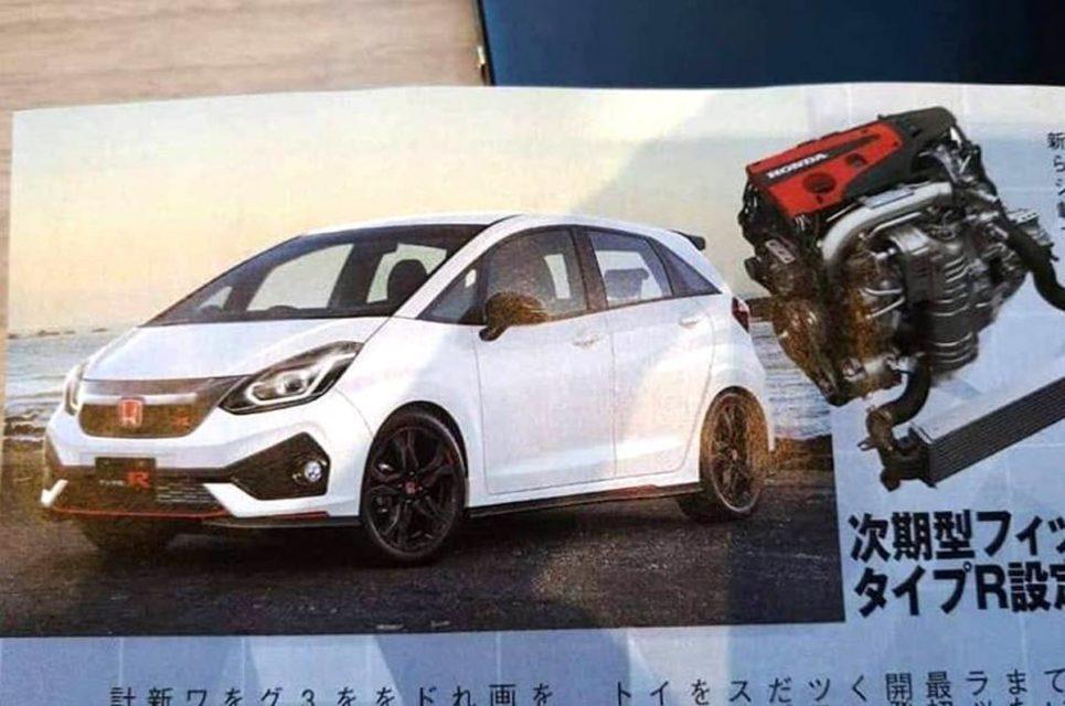 2020 Honda Jazz Leaked