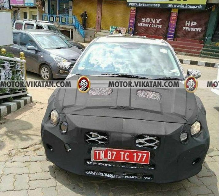 2020 Hyundai Elite i20 Spied 1