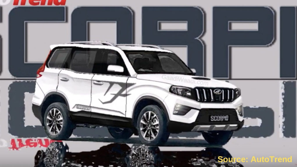2020 Mahindra Scorpio Rendered-2
