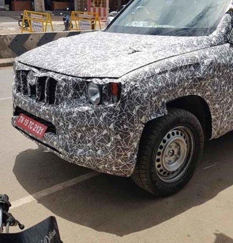 2020 Mahindra Scorpio Spied Testing