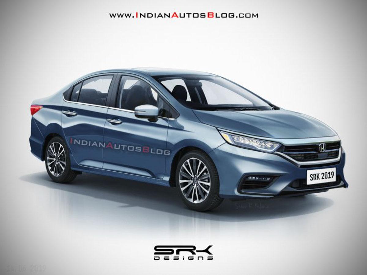 Honda Accord Vs Civic >> 2020 Honda City Hybrid Rendered With Big Exterior Changes