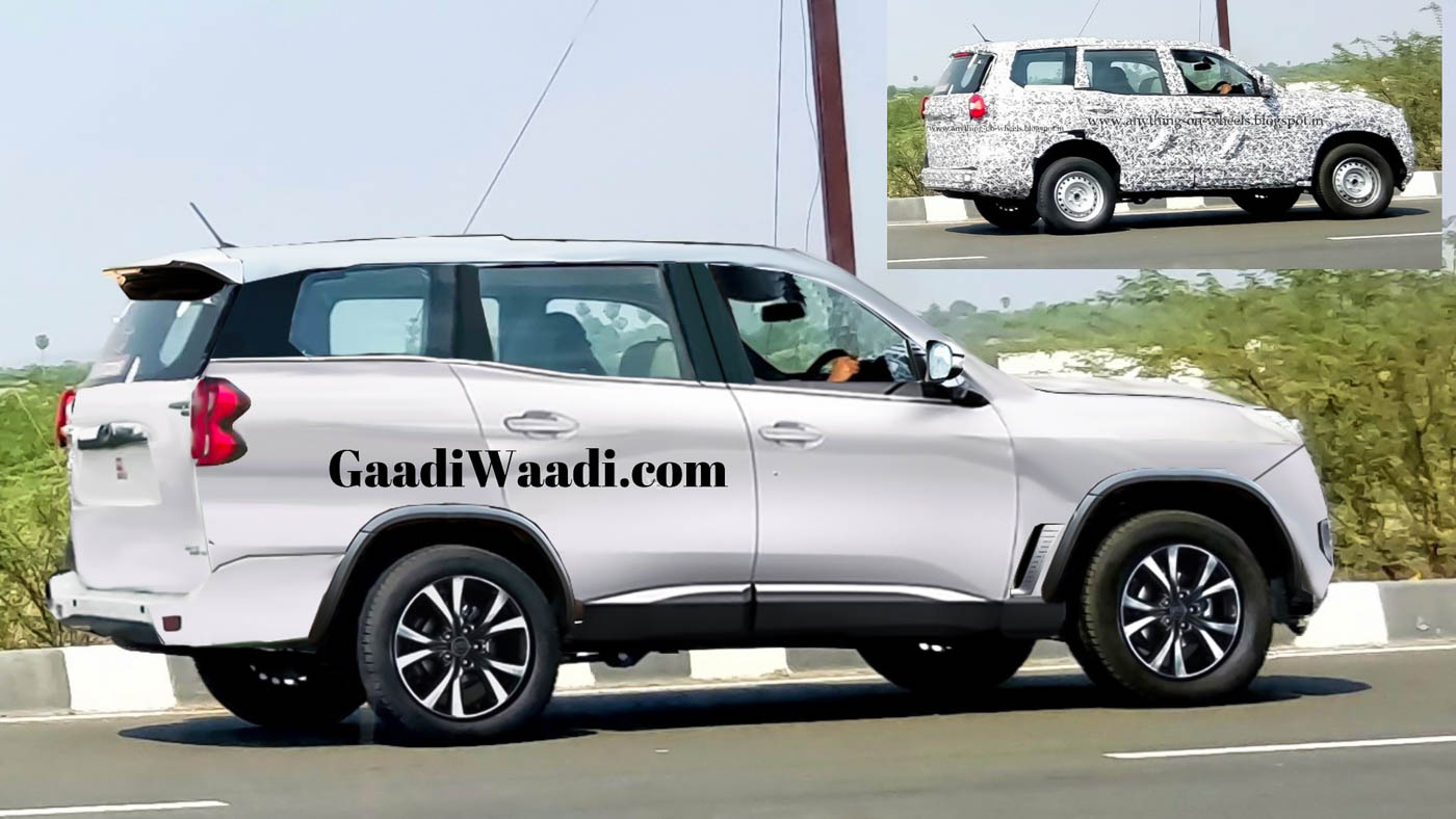 Upcoming 2021 Mahindra Scorpio Will Be Bigger And Well Equipped