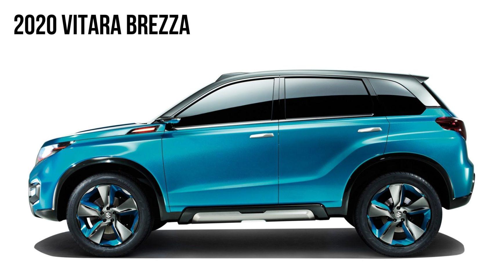 2019 Suzuki Vitara Review, Price, Facelift >> 2020 Maruti Suzuki Vitara Brezza Facelift 5 Expected Changes
