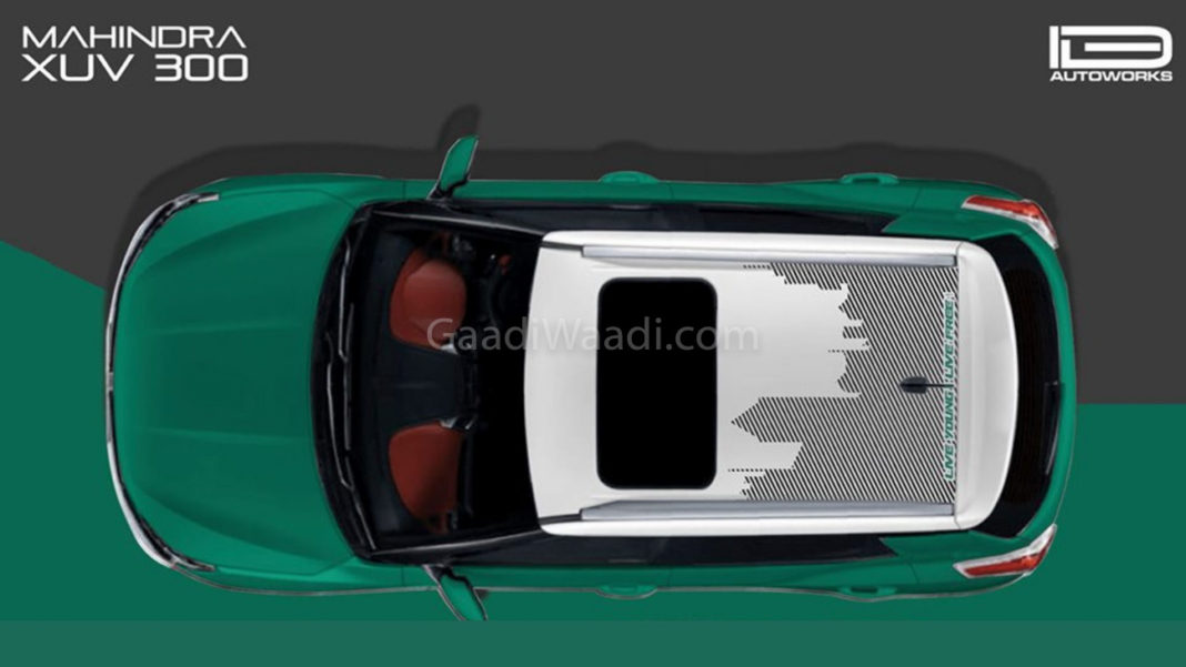 Aftermarket Graphics Kit For Mahindra XUV300 Launched -5