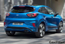 Ford Puma SUV Rear