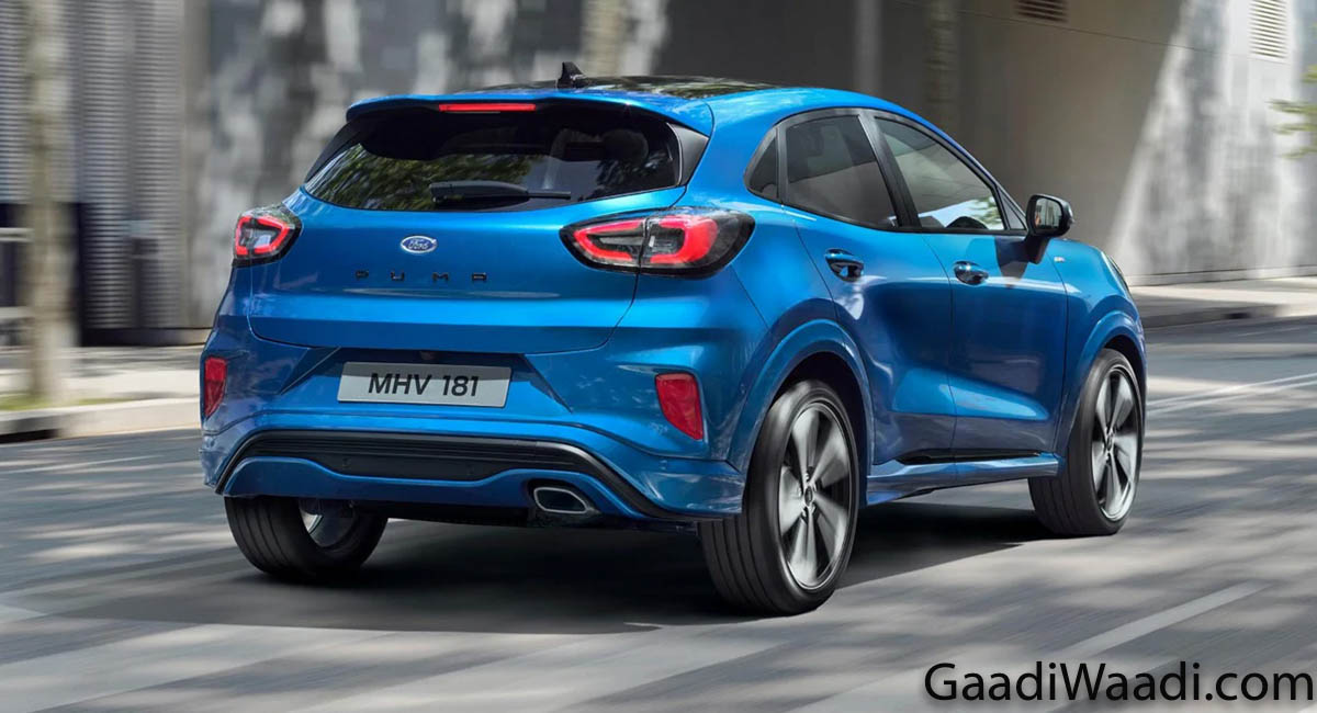 ford puma suv breaks cover  stunning