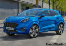 Ford Puma SUV front 1