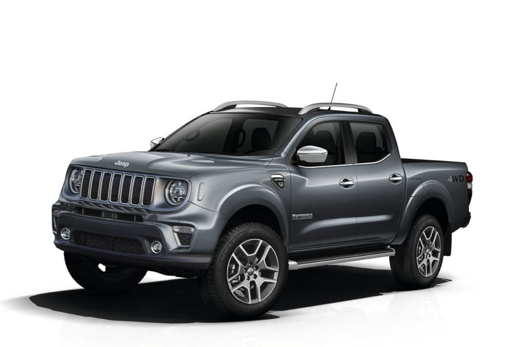 Jeep Renegade Pickup Truck
