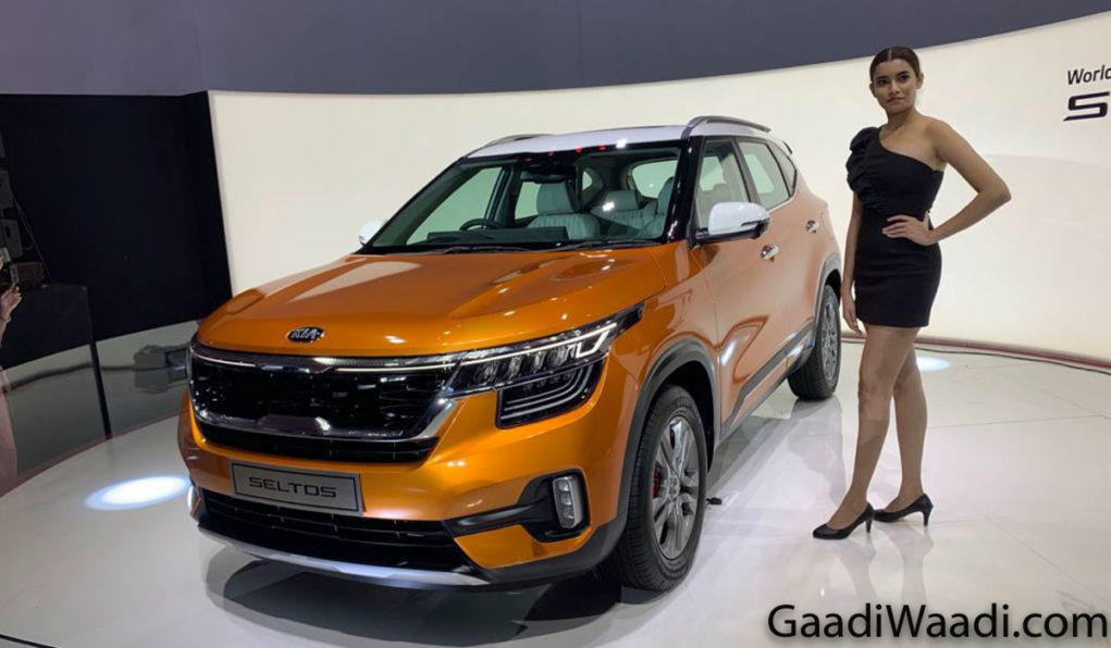 Kia Seltos Unveiled in India, Price, Specs, Interior, Features, Rivals, Engine 1