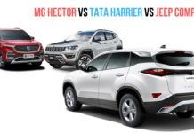 MG Hector Vs Tata Harrier vs jeep compass(1)