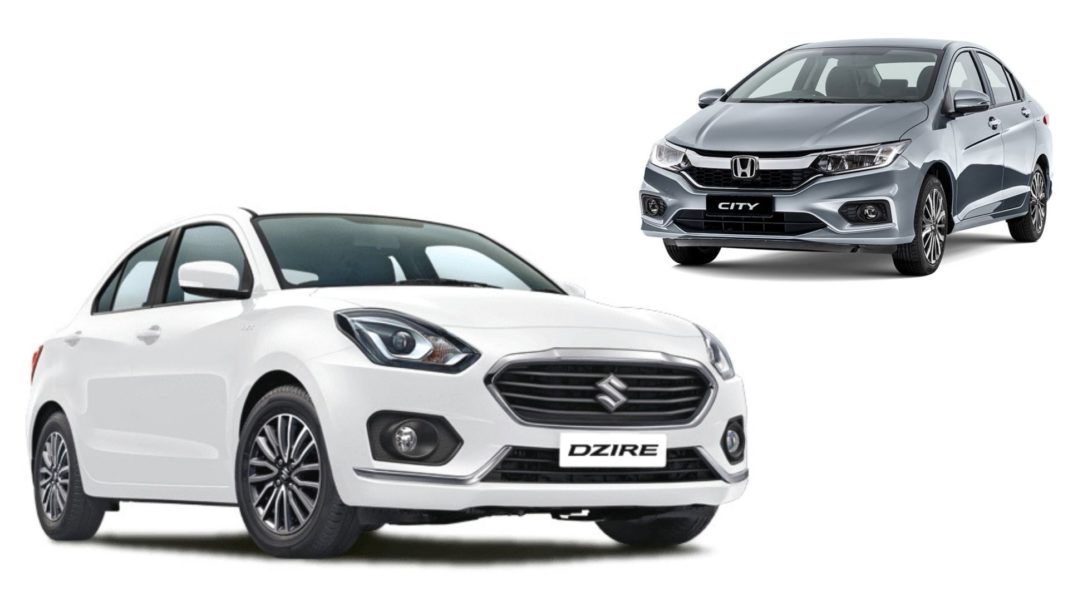 Maruti Dzire To Honda City