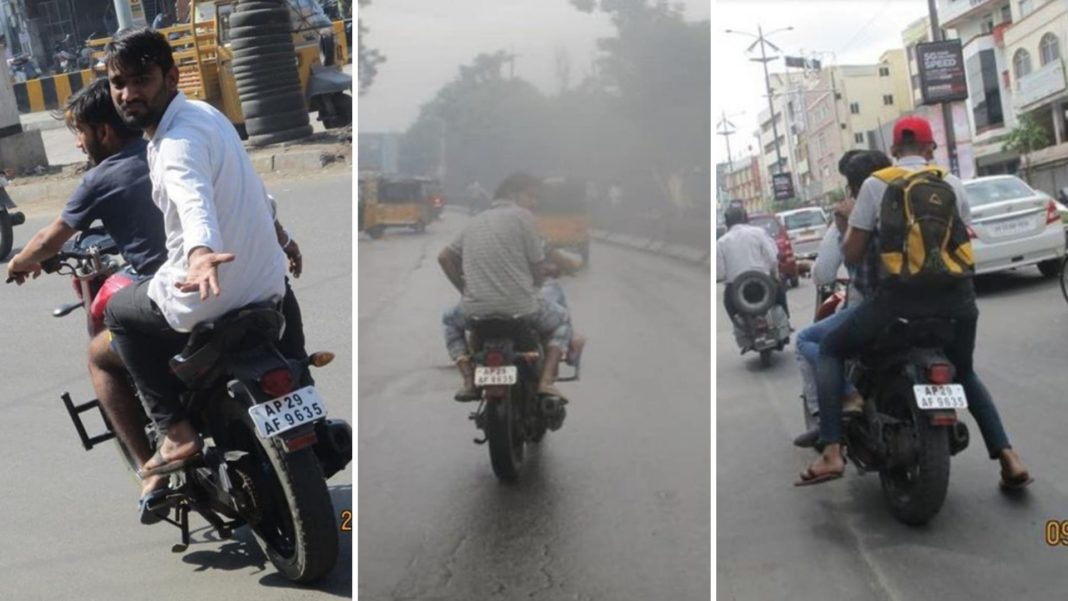 Owner Of A Stolen Yamaha FZ16 Gets Challan With Pictures 1