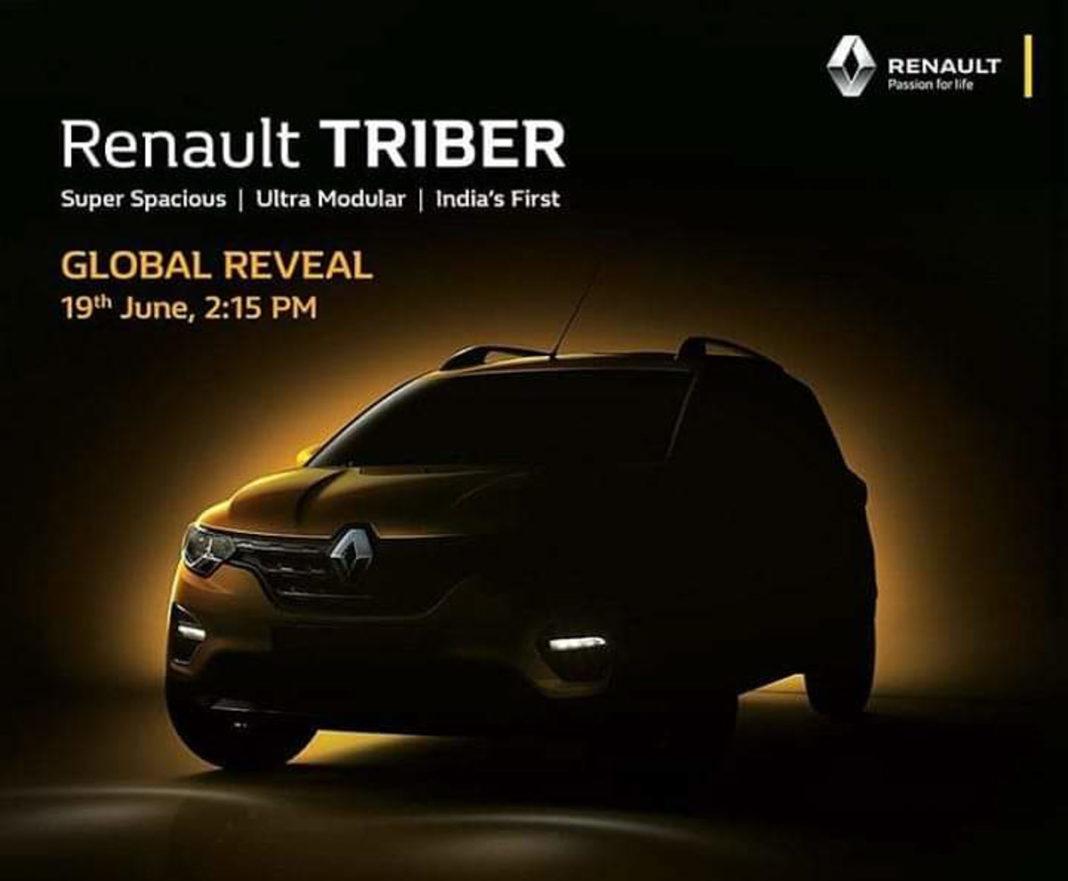 Renault Triber Global Unveil June 19