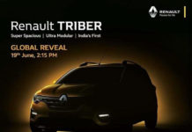 Renault Triber Global Unveil June 19