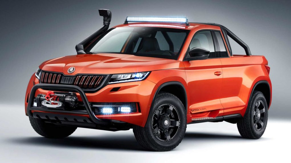 Skoda Kodiaq Based One-Off Mountiaq Pickup-1
