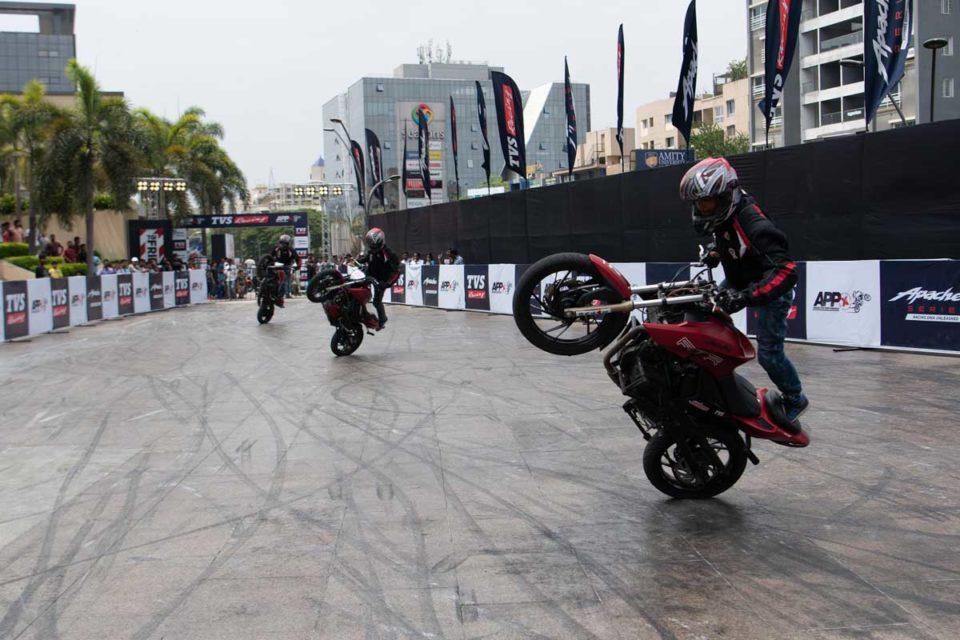 TVS APPX Pune Stunt Marathon Record