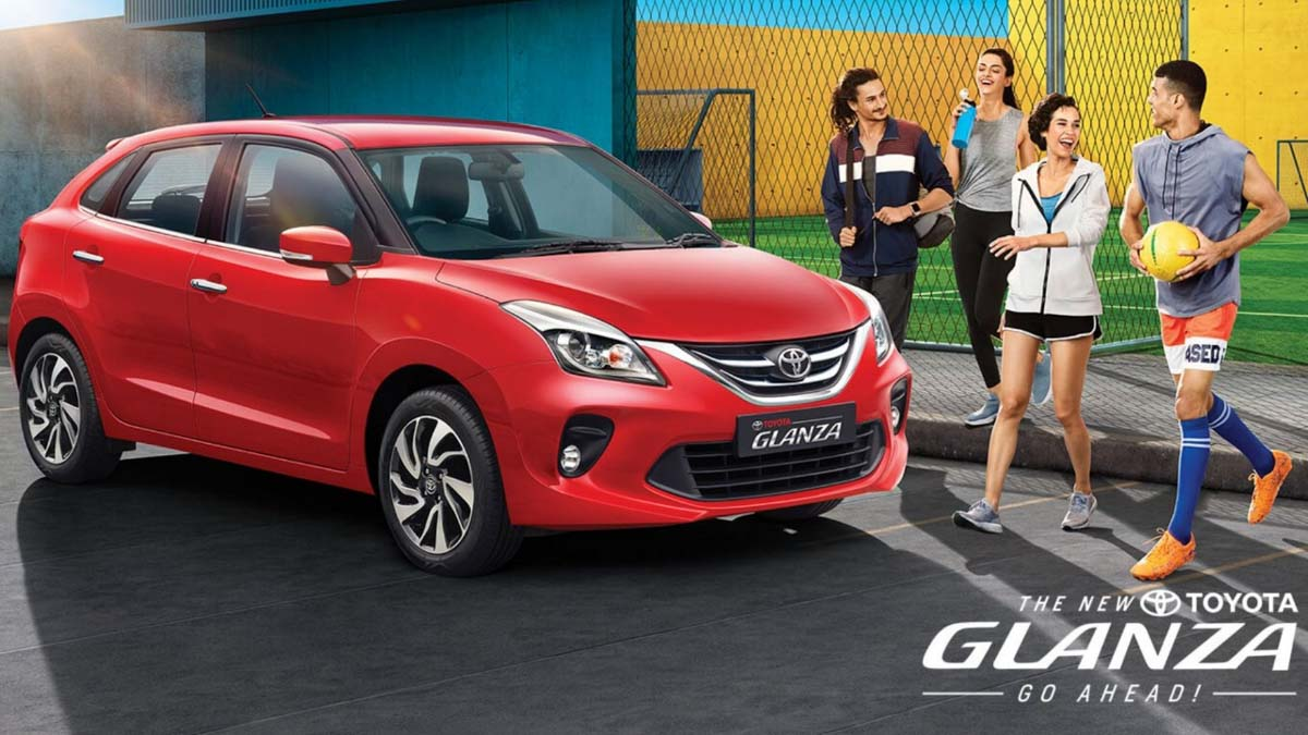 Toyota Glanza Sales Cross 25,000 Mark In 10 Months