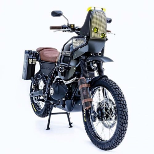 custom royal enfield himalayan adventure