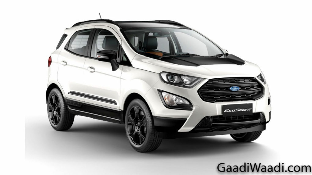 ford ecosport thunder edition launched in india, price, specs, features, interior