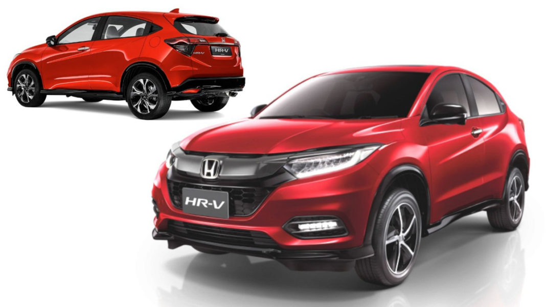 honda hr-v spied india 1
