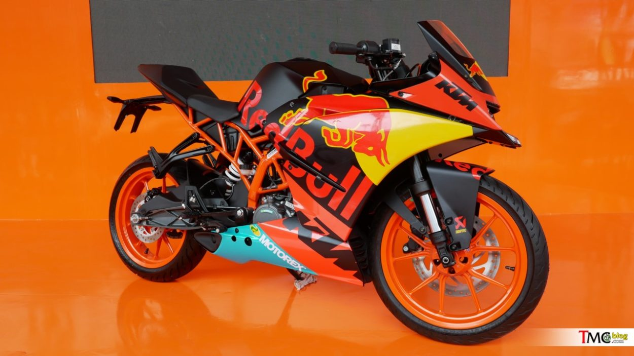 KTM RC200 With 2019 Red Bull KTM Team MotoGP Livery Showcased