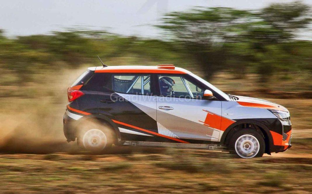 mahindra xuv300 super rally