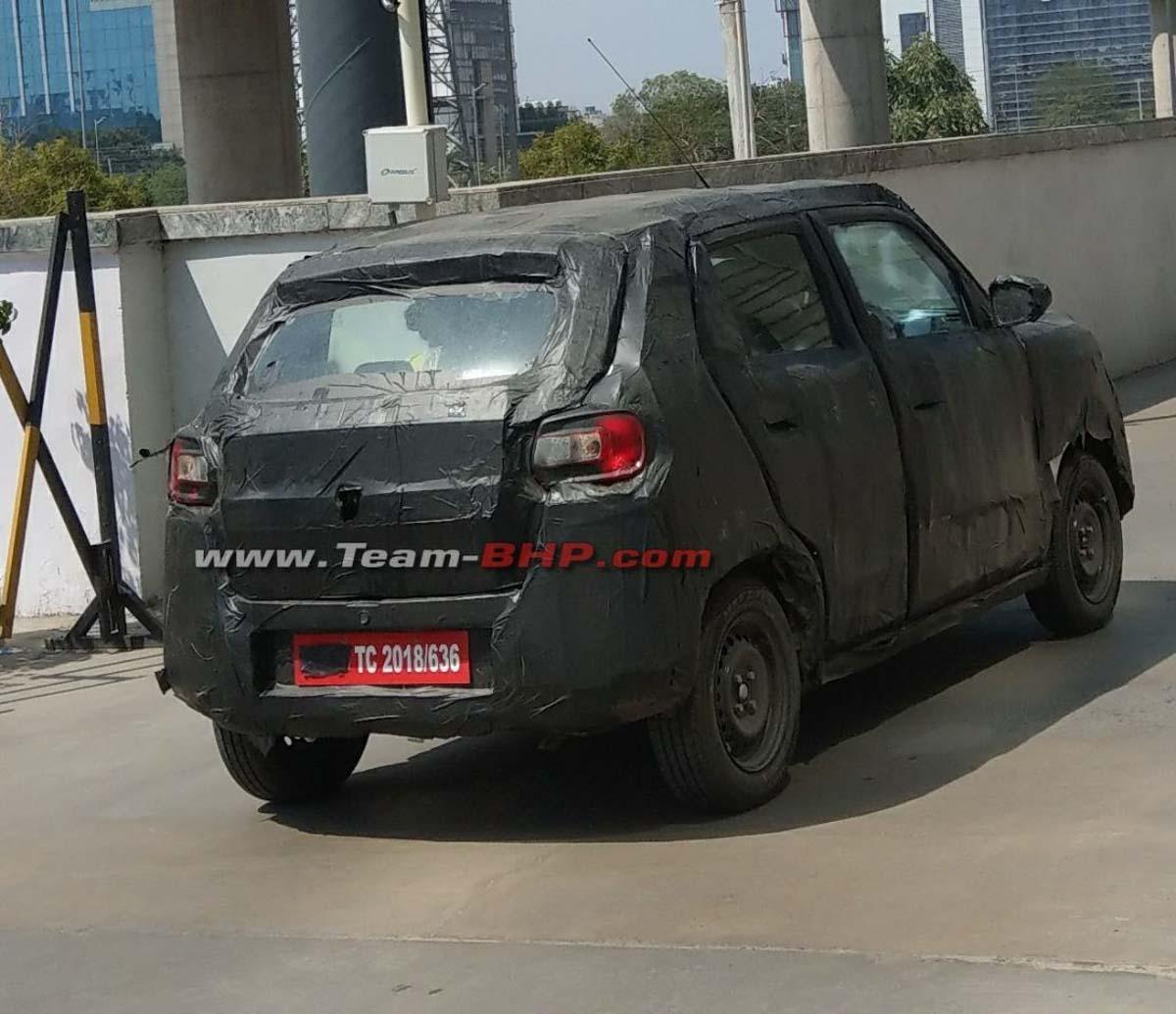 Maruti Suzuki S Presso Micro Suv Spied Testing In India Ahead Of