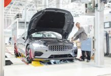 polestar 1 production begins china