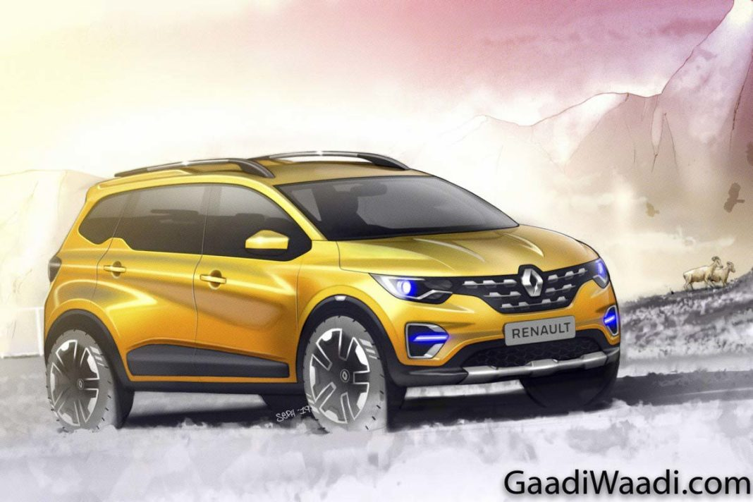 renault triber revealed 6