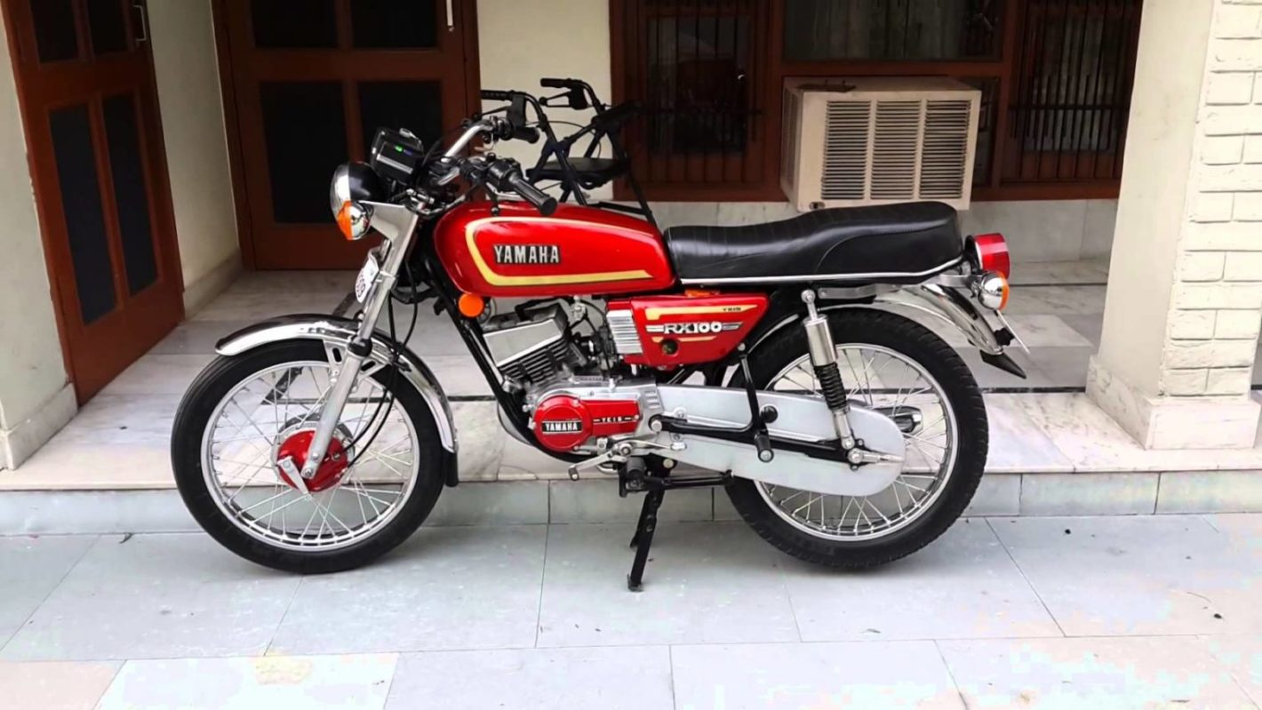 Yamaha rx 100 price 2019 in india
