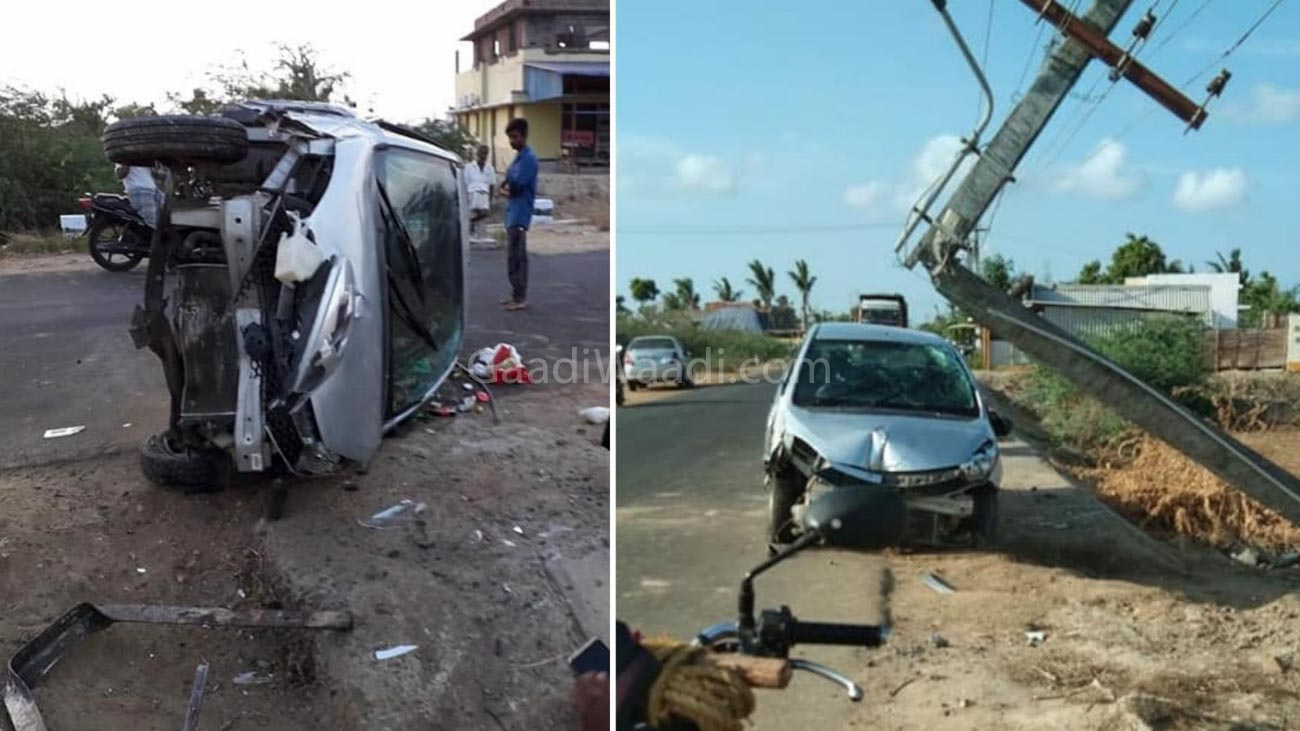 Tata Tiago's Build Quality Saves Passengers In Another Dreadful Accident
