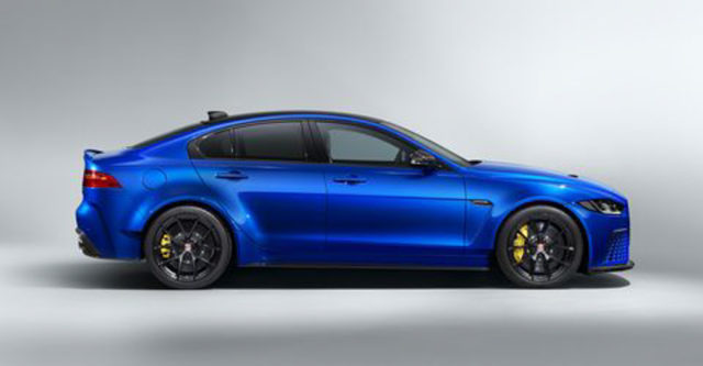 touring specification Jaguar XE SV Project 8
