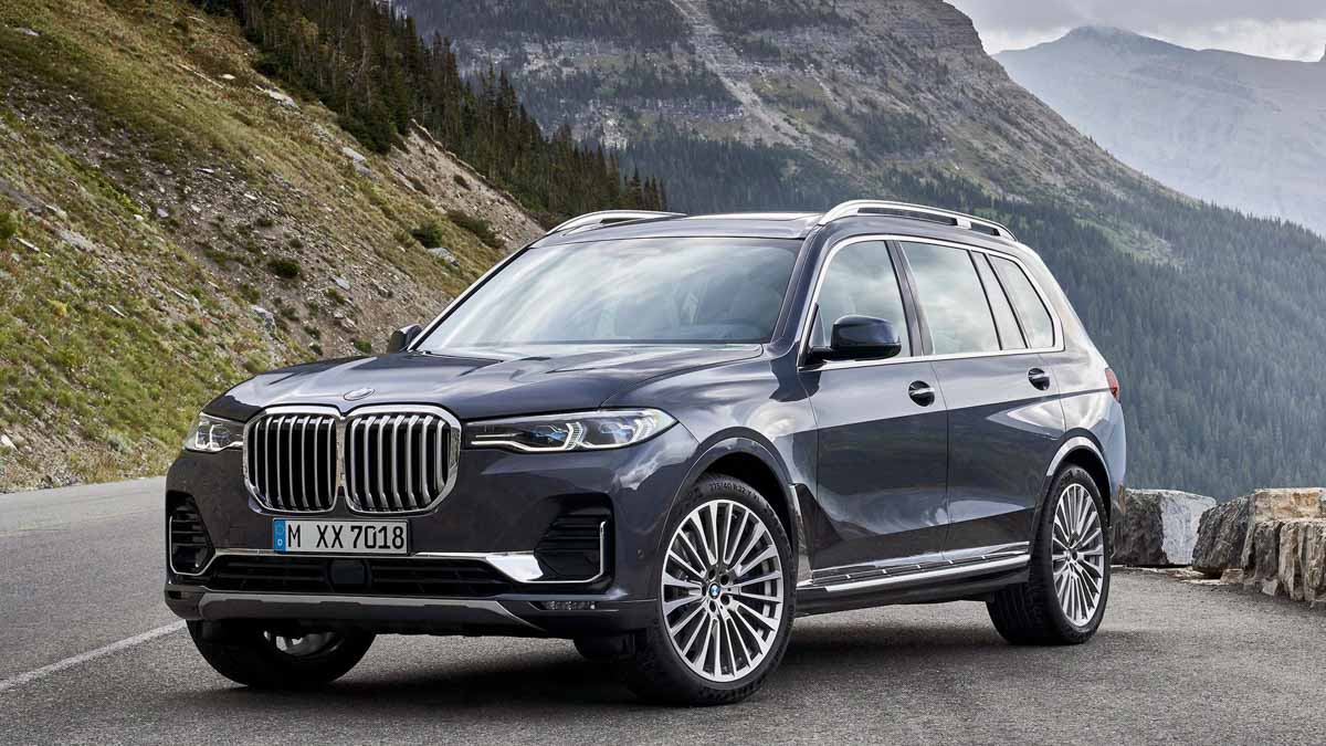 Seven Seater 2019 Bmw X7 Suv Launched In India At Rs 98 90 Lakh