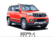 2019 Mahindra TUV300 Facelift Rendered