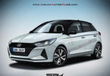 2020 Hyundai Elite i20 Rendered