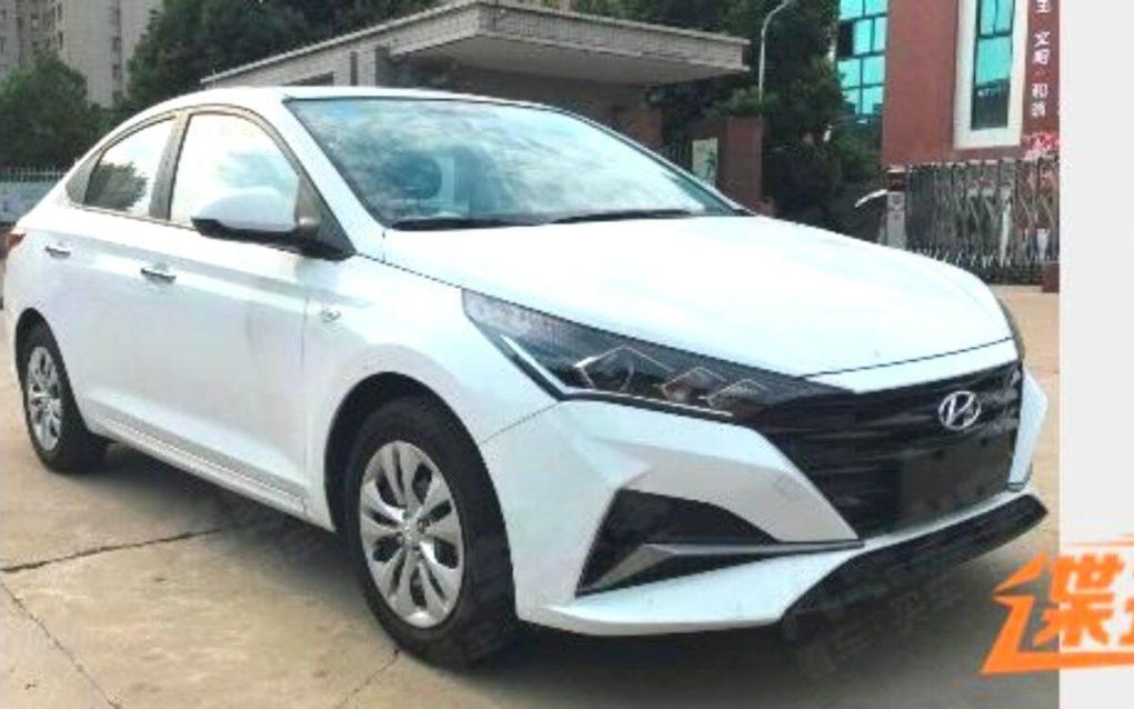 2020 Hyundai Verna front