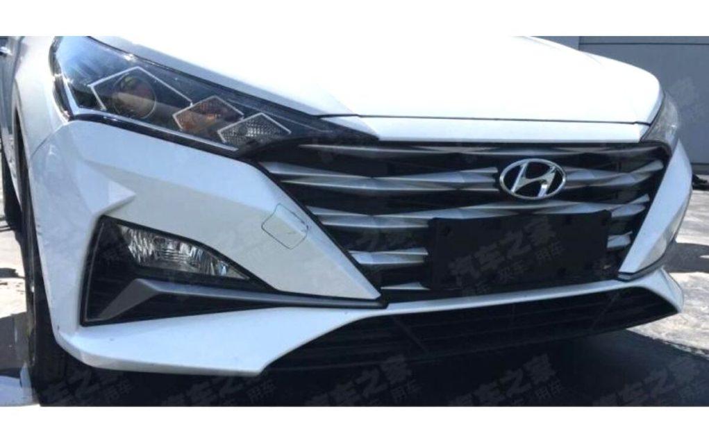 2020 Hyundai Verna front bumper
