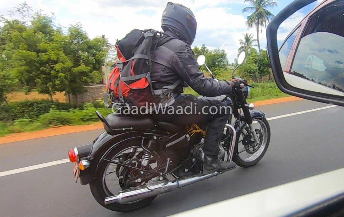2020 Royal Enfield Classic 350 Spied 1