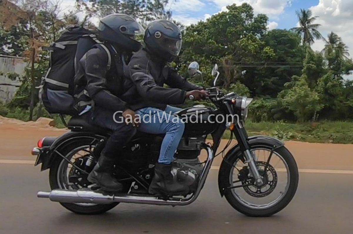2020 Royal Enfield Classic 350 Spied 2