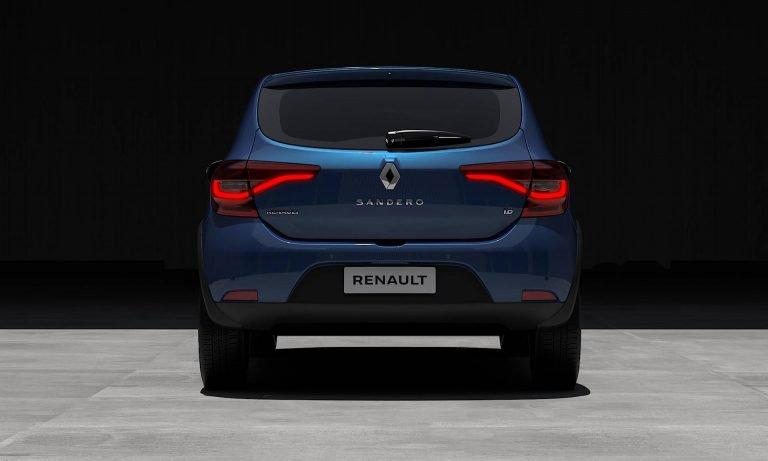 2020 Sandero rear