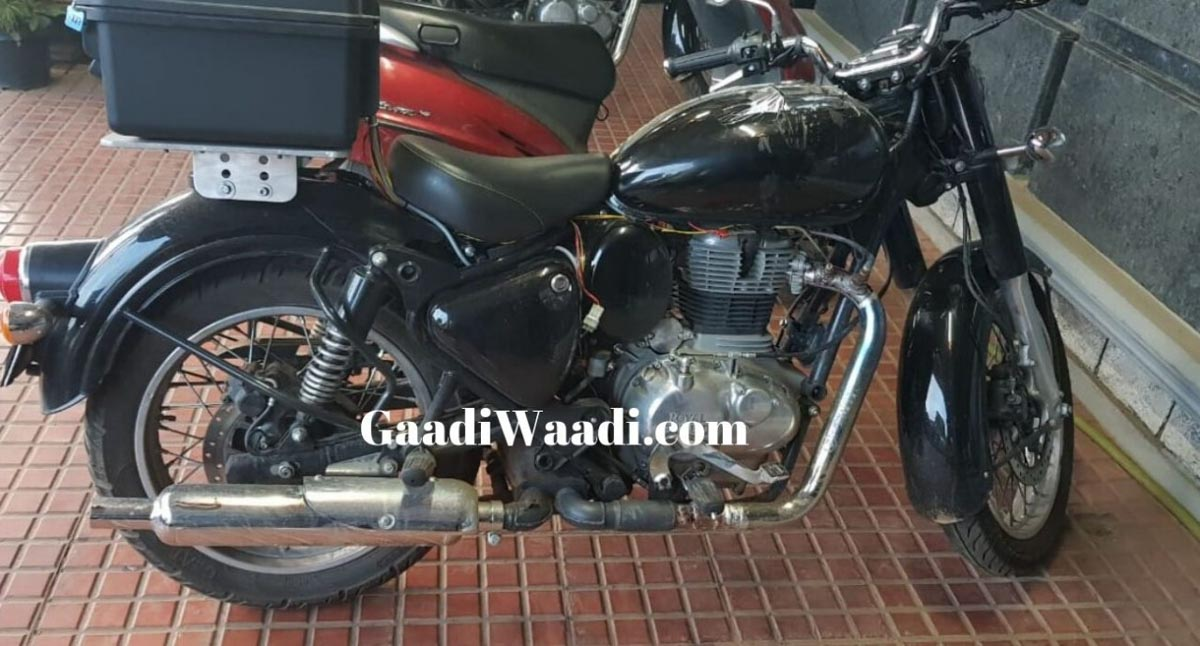 2020 Re Classic 350 Bs6 With Fi Engine Spied For The First