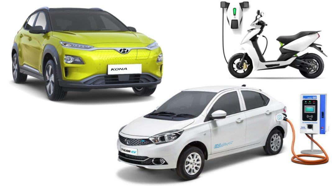 GST On Electric Vehicles Reduces By 7%, Hyundai Kona & Tigor EV To Benefit