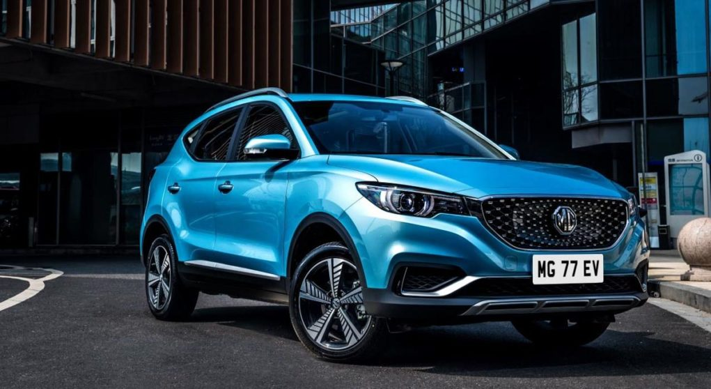 India-Bound MG eZS Electric SUV Front