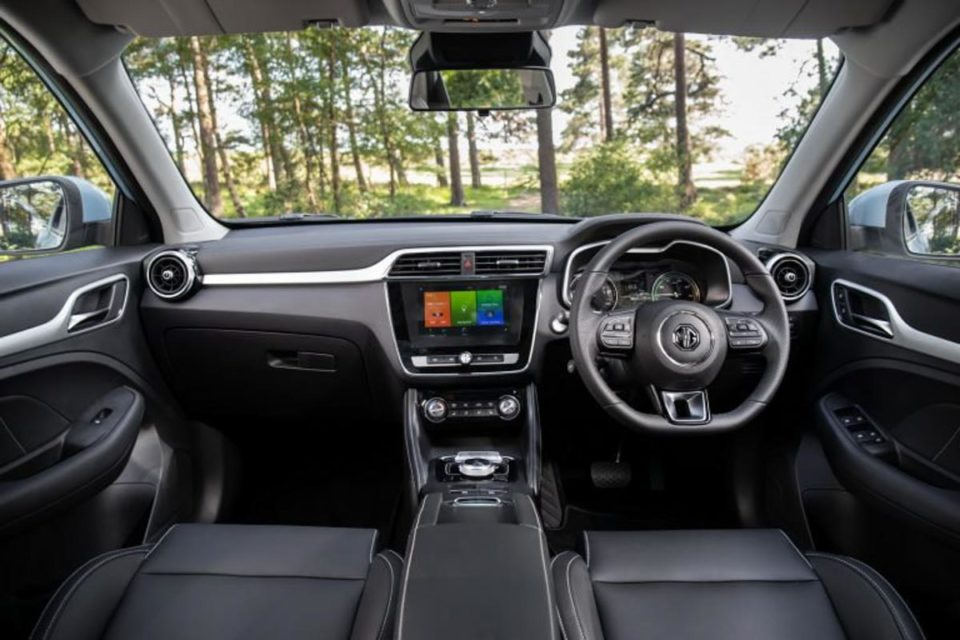 India-Bound MG eZS Electric SUV Interior