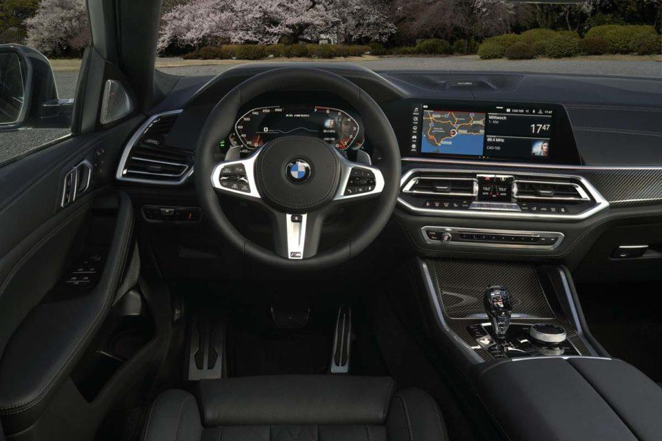 India-bound 2020 bmw x6 interior