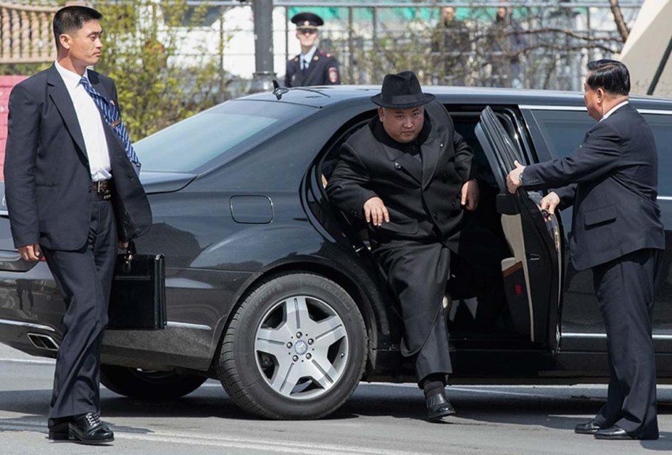 Kim Jong Un Mercedes-Maybach 1