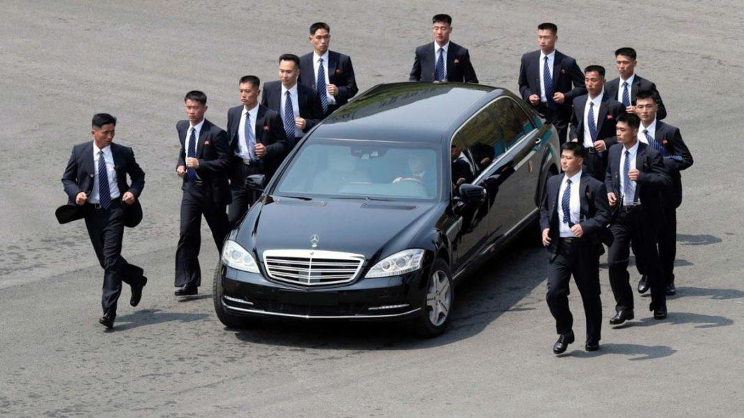 Kim Jong Un Mercedes-Maybach