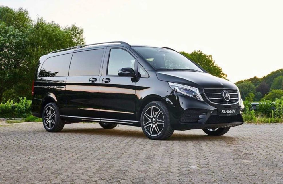 This Modified Luxurious Mercedes V Class Van Is A Private Jet On Wheels