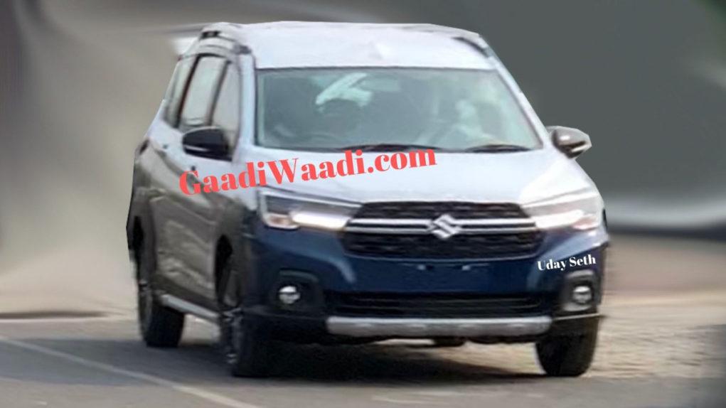 Maruti Suzuki Ertiga XL6 Spied